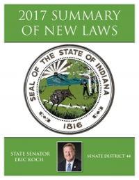 2017 Summary of New Laws - Sen. Koch
