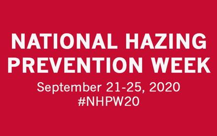 Image for National Hazing Prevention Week 2020 Day 4 - Addressing Bystander Behavior