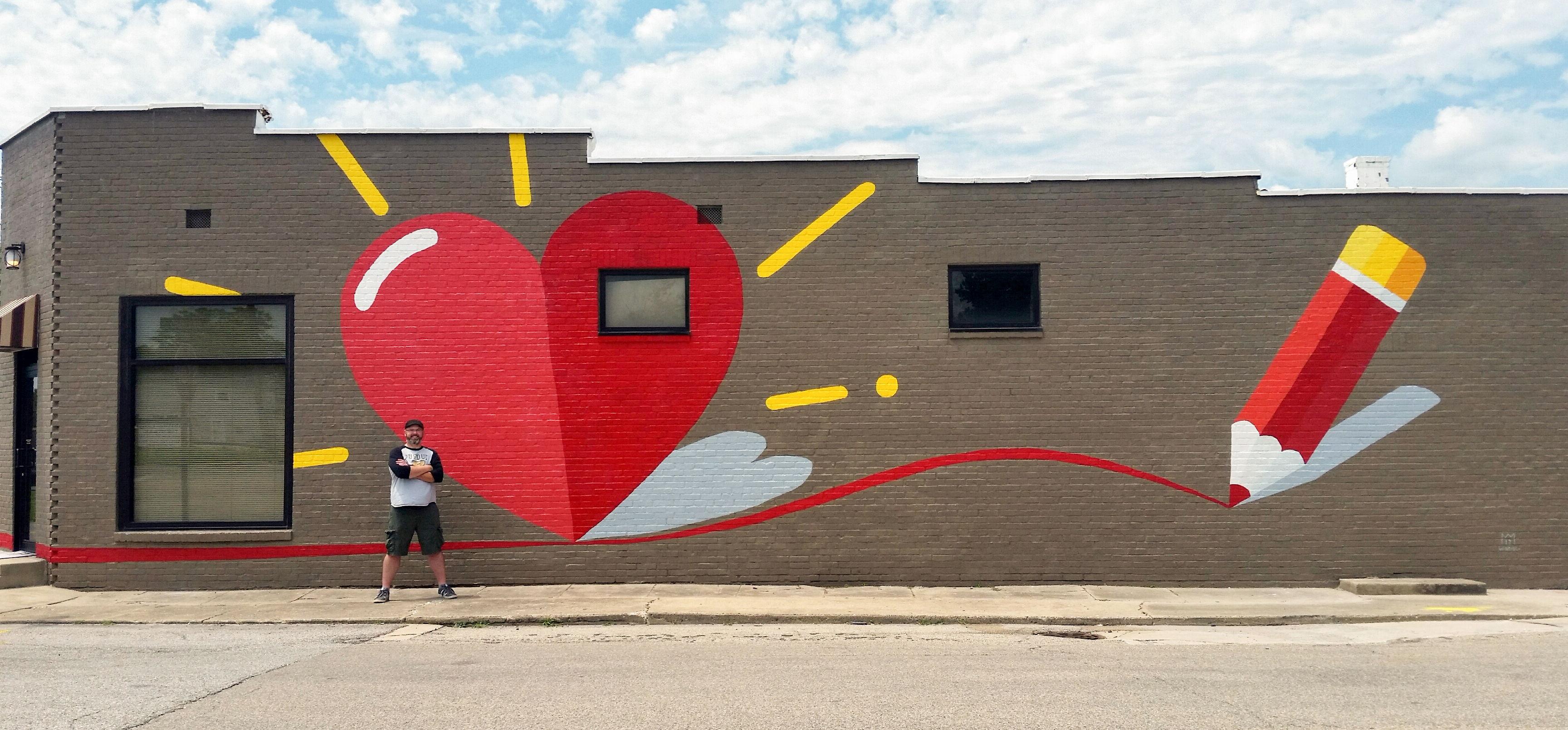 2017 Whiteland mural