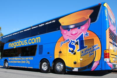 Megabus Wrap