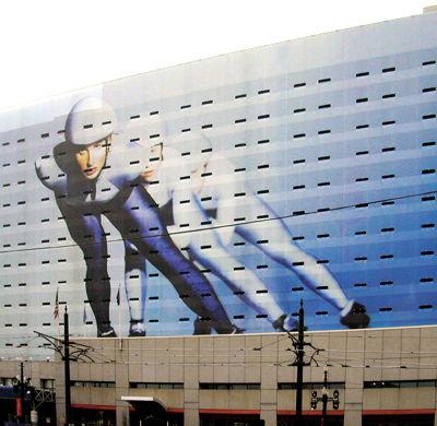 Large Building Wrap