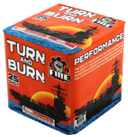 Image of Turn and Burn 25 Shot