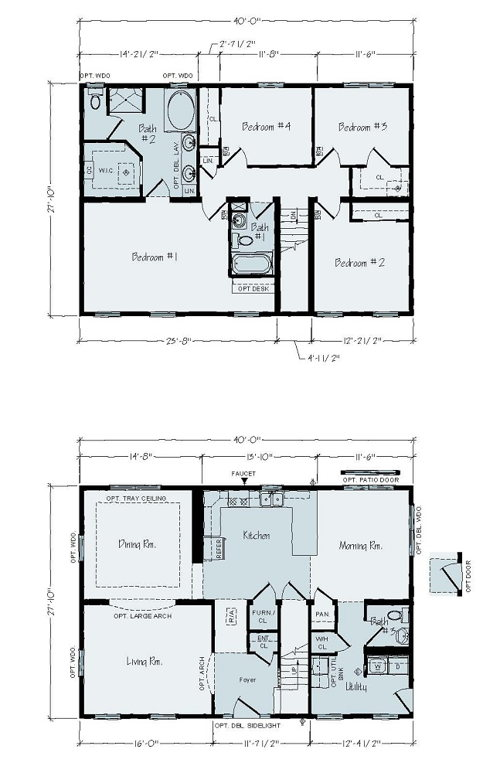 Floorplan of Palm Terrace