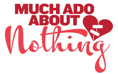 Logo for Much Ado About Nothing