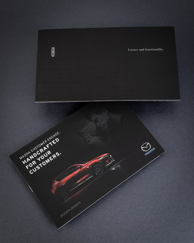 Car Product Information Brochure
