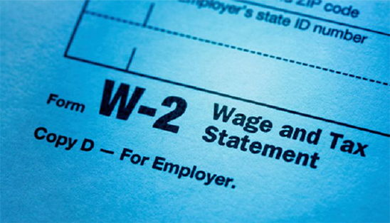 Image for New Year, New You - Same W-2 Tax Scams