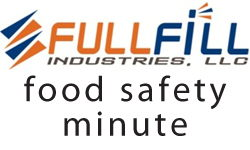 food safety minute logo