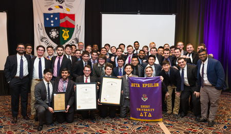 Beta Epsilon Chapter Installed at Emory University