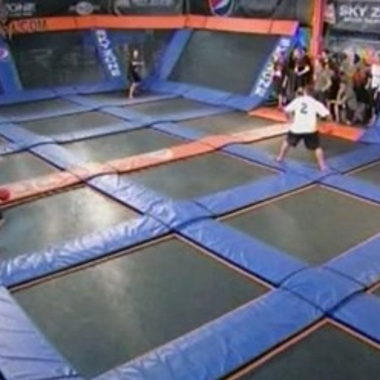 Image for Trampoline Dodgeball Exists, And It Looks Extremely Fun