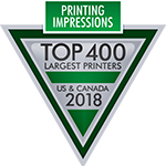Logo for Top 400 Largest Printers US & Canada 2018