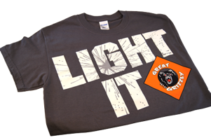Image for Light It Great Grizzly Shirt