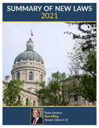 2021 Summary of New Laws - Sen. Alting
