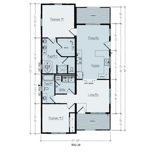 Floorplan of Silver Grove