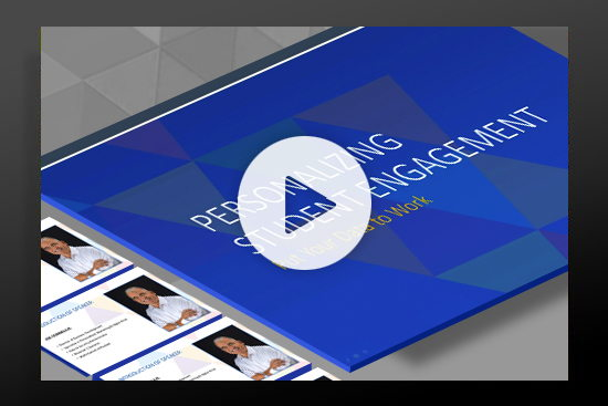 Webcast: Personalizing Student Engagement