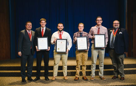 Image for Theta Chi Announces Second Round of  2018/2019 Chapter Awards Recipients