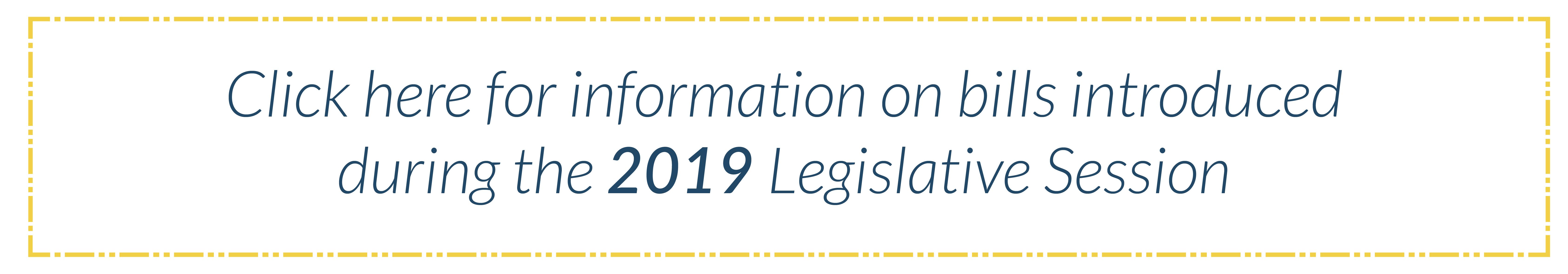 2019 Bills