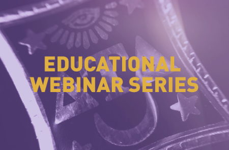 Image that represents Education Webinar Series
