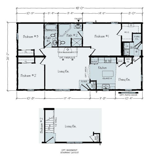 Floorplan of Liverpool