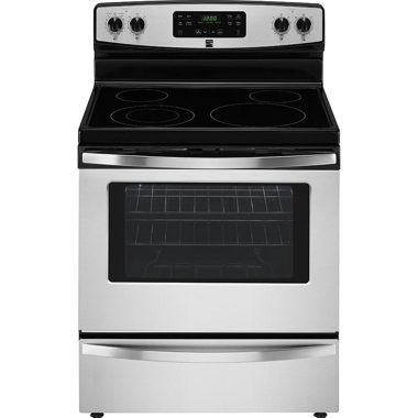 KENMORE 30″ 5.3 CU. FT. ELECTRIC RANGE- STAINLESS