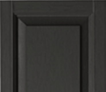 STANDARD RAISED PANEL SHUTTER - BLACK