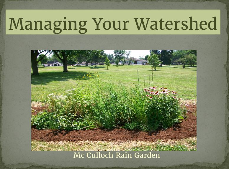Managing your watershed image