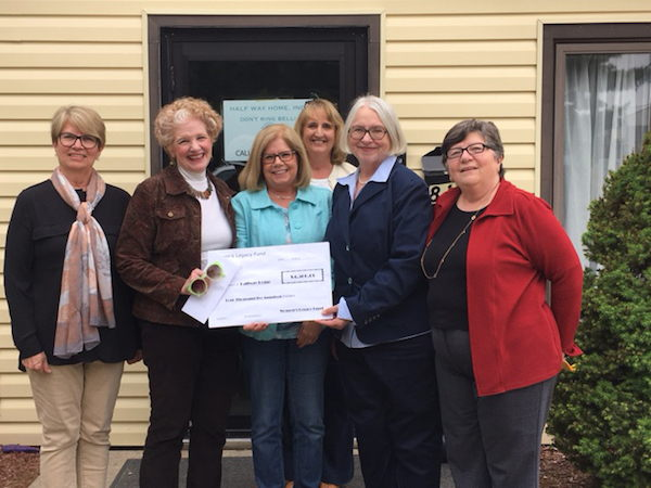 Image of women who helped with the halfway home grant