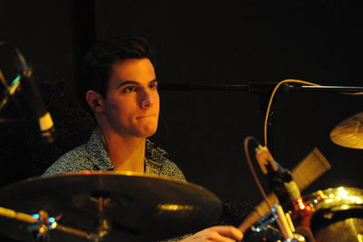 Drummer Balances Pop Rock Band with Pursuit of Finance Degree