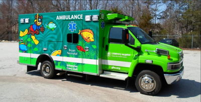 Ambulance Fleet Wrap