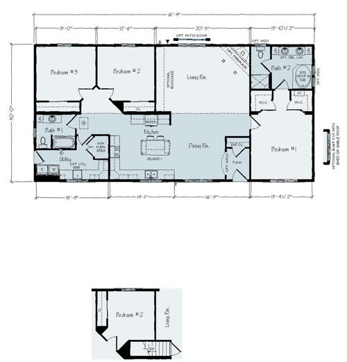 Floorplan of Albany Series