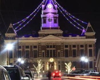 Holiday Lighting and Winter Market