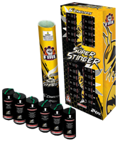 """Image of Super Stinger 24 Shells 6"""""""