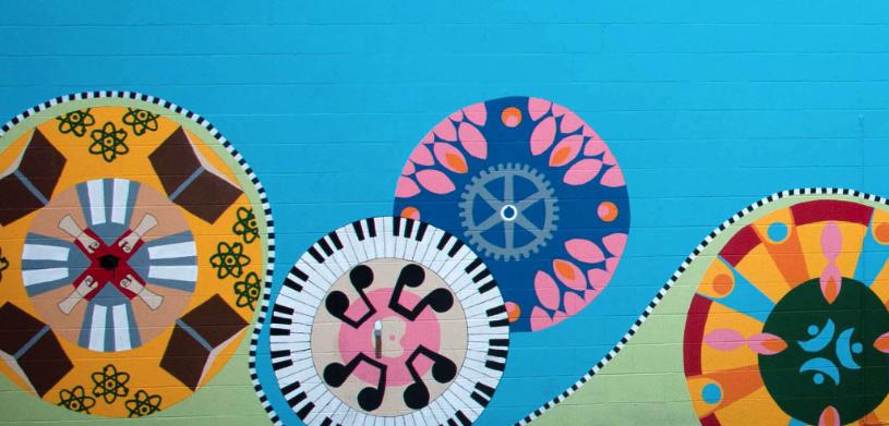 2016 Greenwood mural