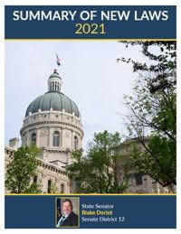 2021 Summary of New Laws - Sen. Doriot