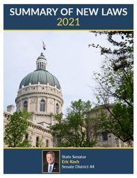 2021 Summary of New Laws - Sen. Koch