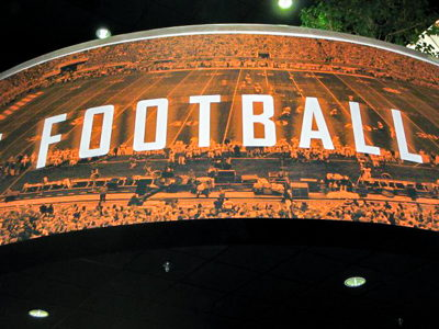 UT Football Outdoor Stadium Graphics