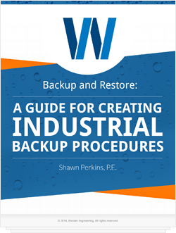 Backup and Restore: A Guide for Creating Industrial Backup Procedures