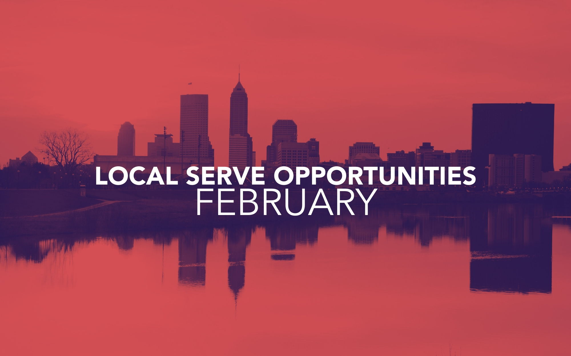 Image for February Local Serve Opportunities