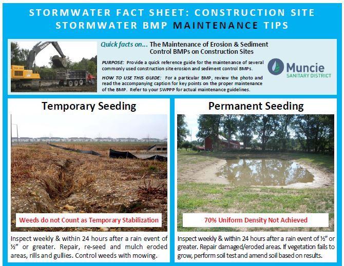 Stormwater maintenance factsheet image