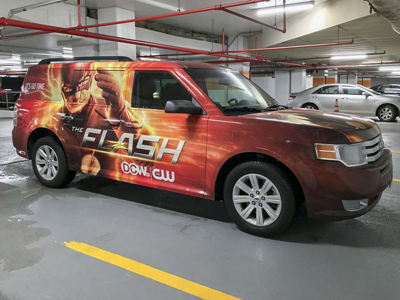 Car Promotion Full Wrap