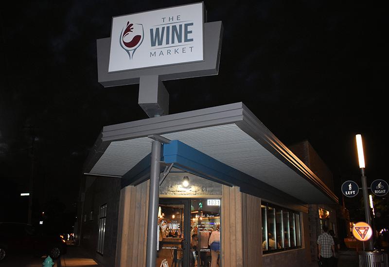 Wine Market Fountain Square Indianapolis