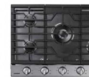"""Samsung NA30K6650TS 30"""" Gas Cooktop"""