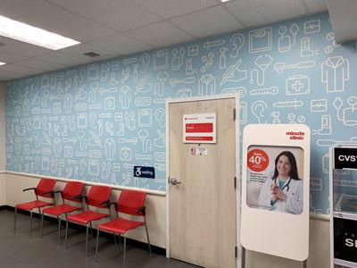 CVS Waiting Area Wall Graphics