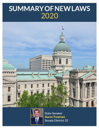 2020 Summary of New Laws - Sen. Freeman