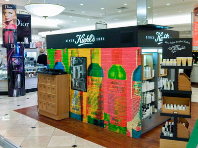 Kiehl's Brick Vinyl Graphic