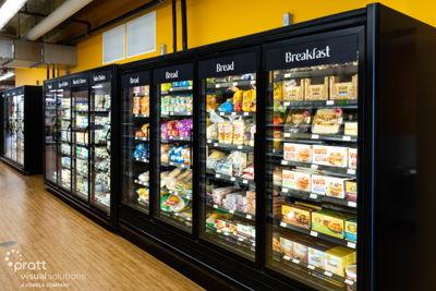 Fruitful Yield Freezer Signs