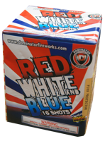 Image for Red, White, & Blue Bombs 16 Shot