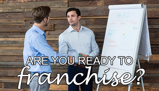 Image for Are you ready to franchise your business?
