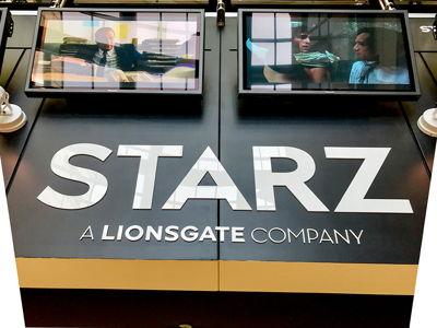 STARZ Acrylic Logo Letters