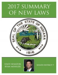 2017 Summary of New Laws - Sen. Mishler