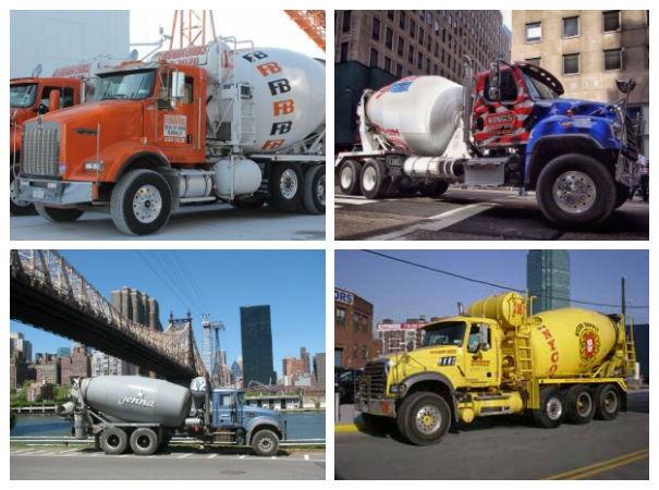 Ferrara Brothers, Kings, Jenna and NYCON trucks